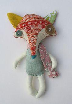 Abigail Brown: creature textile designer extraordinaire - fabric creatures
