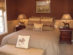 Equestrian Decorating Theme | Equestrian Theme   Vacation Home Interiors Equestrian  Bedroom, Equestrian Decor,
