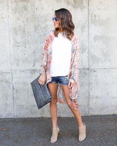 Movi Tie Dye Kimono
