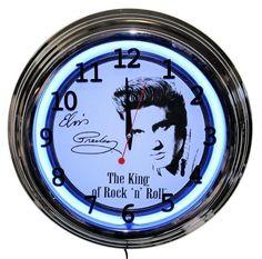 Elvis Presley Neon Clock New Wall Clock Lifestyle Lighting