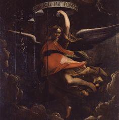 Cavagna Gian Paolo - Angelo con giglio - 1592-1599 - Accademia Carrara di Bergamo Pinacoteca
