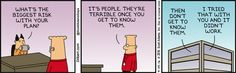 People Are Terrible -  Dilbert Comic Strip on 2016-04-29 | Dilbert by Scott Adams