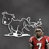 This dog is more generous than I am ~ I wouldn't PISS on Micheal Vick to put a fire out fuck all heartless SPORTS LOVING PUSSIES!!!