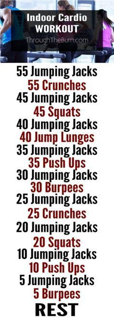 Killer Indoor Cardio Workout! | Posted By: AdvancedWeightLossTips.com |