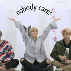 Bts is a new group. Kim Namjoon Kim seokjin Min yoongi Jung hoseok Park Jimin Kim Taehyung Jeon jungkook and. (y/n) gets to be a part of this amazing group. It shows how they bound and grow as a group and as a family. Bts Memes Hilarious, Cute Memes, Stupid Funny Memes, Funny Relatable Memes, Bts Meme Faces, Funny Faces, K Pop, Response Memes, Jimin Wallpaper