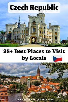 39 Best Places to Visit in the Czech Republic: Insider's Guide Beautiful Castles, Beautiful Places, European Destination, Travel Guides, Travel Tips, Travel Advice, Czech Republic, Where To Go, Cool Places To Visit