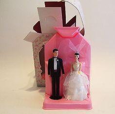 1997 Hallmark Barbie and Ken Wedding Ornament New in Box Cake Topper