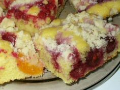 Kolač s ovocím Šup-šup Healthy Dessert Recipes, Cake Recipes, Czech Desserts, Coconut Pound Cakes, Czech Recipes, Good Food, Yummy Food, Sweet Cakes, Desert Recipes
