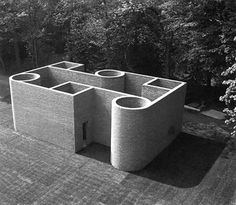 theeyestheysee Per Kirkeby, Brick Sculpture and Architecture (Cont'd) Brick Works, S Brick, Brick Architecture, Interior Architecture, Architectural Sculpture, 3d Modelle, Brutalist, Land Art, Art Plastique