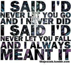 Some of the best lyrics in my opinion come from Have Faith in Me by A Day to Remember :)