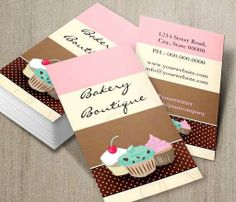 520 Best Bakery Business Card Templates Images Business Card