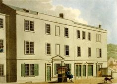 The Orchard Street Theatre, Bath. As featured in Northanger Abbey.