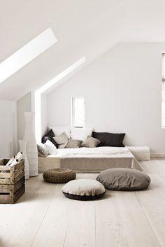 Minimalist bedroom