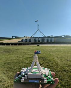 My attempt at #buildAustralia to celebrate the launch of the @LEGO Architecture Sydney Skyline set Parliament House in Canberra!  #lego #LEGOaustralia #canberra #parlimenthouse #afol #brick #bricknetwork #Bricktease #brick #bricks #cbr #minifig #minifigures LEGO