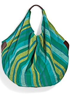 Would be great with a handwoven fabric. DIY Bag tutorial.