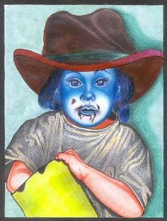 Where the chocolade is gone? Cowboy Hats, Painting, Art, Chocolate, Art Background, Painting Art, Kunst, Paintings, Performing Arts