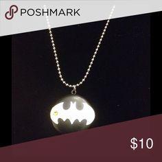 Batman locket Batman locket with chain Jewelry Necklaces