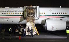 Despega de Egipto avión presidencial con heridos mexicanos