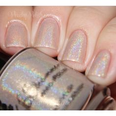 In Bare Form Holographic Nail Polish Nail Polish 0.5 Oz Full Sized... (€8,16) ❤ liked on Polyvore featuring beauty products, nail care and nail polish
