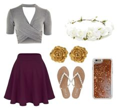 """""""Untitled #41"""" by chiefsfan23 ❤ liked on Polyvore featuring Topshop, M&Co, Agent 18, Liberty and Forever 21"""