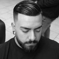 Comb Over Fade Haircuts 2019 B Over Fade Haircut for Men 40 Masculine Hairstyles Of 97 Amazing Comb Over Fade Haircuts 2019 Combover Hairstyles, Short Shaved Hairstyles, Mens Hairstyles Fade, Haircuts For Men, Men's Hairstyle, Fade Haircut With Beard, Comb Over Fade Haircut, Taper Fade Haircut, Fade Haircut Designs