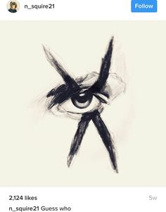 My Chemical Romance - Frank Iero - eye make up drawing