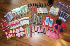 bridesmaids gift box ideas | Joy Is At Home: DIY Bridesmaid's *or brides* Survival Kit