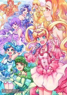 Mermaid Melody, Mermaid Art, Anime Toys, Glitter Force, Glitter Girl, Sailor Moon Crystal, Pretty Cure, Magical Girl, Shoujo