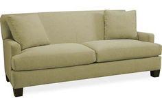 Lee Industries 7042-11 Apartment Sofa 75w x 37d x 34h no back cushions