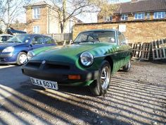 1979 MG B GT in British Racing Green For Sale