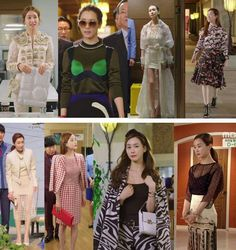 How Women of Power Dress Up in Korean Dramas - Korean Drama Fashion Dress Suits, Dress Up, Lee Da Hae, Hotel King, King Outfit, Future Clothes, Korean Dress, Fashion Lookbook, Powerful Women