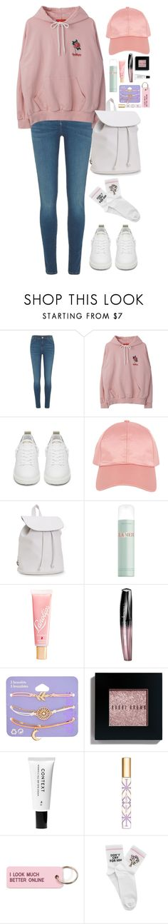 """Don't cry."" by krys-imvu ❤ liked on Polyvore featuring River Island, Golden Goose, Armitage Avenue, Aéropostale, La Mer, Lano, Rimmel, claire's, Bobbi Brown Cosmetics and Context"