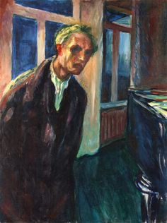 The Night Wanderer by Edvard Munch