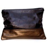 Black/Bronze Pacific Clutch. #fashion #colorful #handbag 9thelm.com
