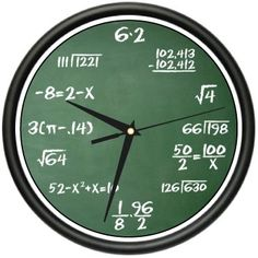 MATH CLASS Wall Clock mathematics teacher classroom gift *** Find out more about the great product at the image link. (This is an affiliate link and I receive a commission for the sales) Math Teacher, Math Classroom, Classroom Decor, Teacher Gifts, Future Classroom, Teacher Stuff, Teaching Math, Classroom Clock, Teacher Funnies