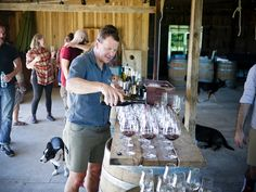 11 things that blew us away at Oliver Winery's vineyard — Cardinal Spirits