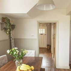 We renovated a house in the UK and here we show our favourite shots from the renovation. Come on in for a room-by-room tour of our home! Howdens Kitchens, Galley Kitchens, Cottage Kitchens, Open Plan Kitchen Diner, Galley Kitchen Design, Kitchen Pantry, 1930s House Renovation, Renovation Budget, Exterior Wood Paint