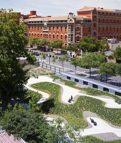 Arquitetura e Paisagem: Jardim do lar de idosos La Paz por Caballero + Colón de Carvajal