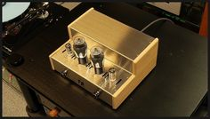 Apollon Fairy 6L6 single ended integrated amplifier