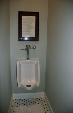 Urinal In Master Bathroom   Would Love A Separation In Our Next Home!