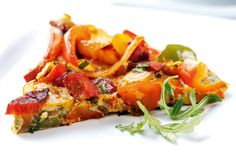 Pepper and sausage frittata recipe - goodtoknow