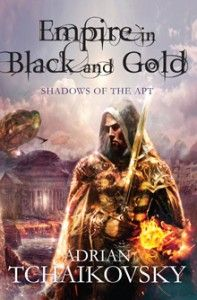 The first two books in Adrian Tchaikovsky's Shadows of the Apt series have been reissued in B format, with a brand new cover design.