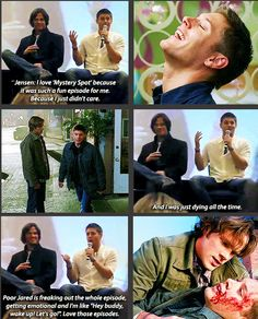 Jensen and Jared talk about 3x11 Mystery Spot at convention panel