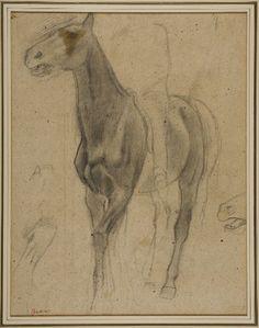 Hilaire-Germain-Edgar Degas, Horse and Rider, c. 1870-78, Harvard Art Museums/Fogg Museum.
