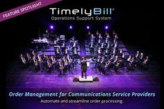 TimelyBill's order management automates and streamlines order processing for telecom service providers.