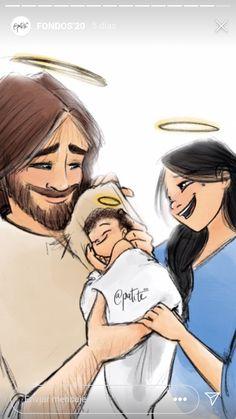 Jesus Mother, Mother Mary, Catholic Art, Religious Art, Nativity Painting, Jesus Artwork, Jesus Christ Images, Mama Mary, Holy Family