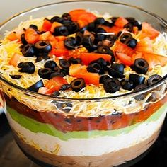 Wow the Crowd with a Deep Seven Layer Dip http://www.yummly.com/blog/2012/09/wow-the-crowd-with-a-deep-seven-layer-dip/