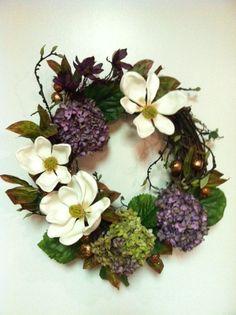 hydrangeas & magnolias:)