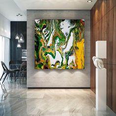 Original Abstract Wall Art-Large Artwork on Canvas Dine Room image 0 Large Abstract Wall Art, Large Artwork, Colorful Artwork, Extra Large Wall Art, Office Wall Art, Texture Art, Original Paintings, Canvas Art, Confirmation