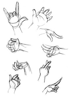 Human Anatomy Fundamentals: How to Draw Hands - Tuts+ Design & Illustration Tutorial ... @jaddimo